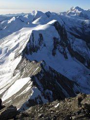 La cresta dalla cima