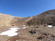 01 - arrivo al Colle dei Fourneaux sett. senza neve