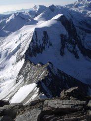 La cresta salita