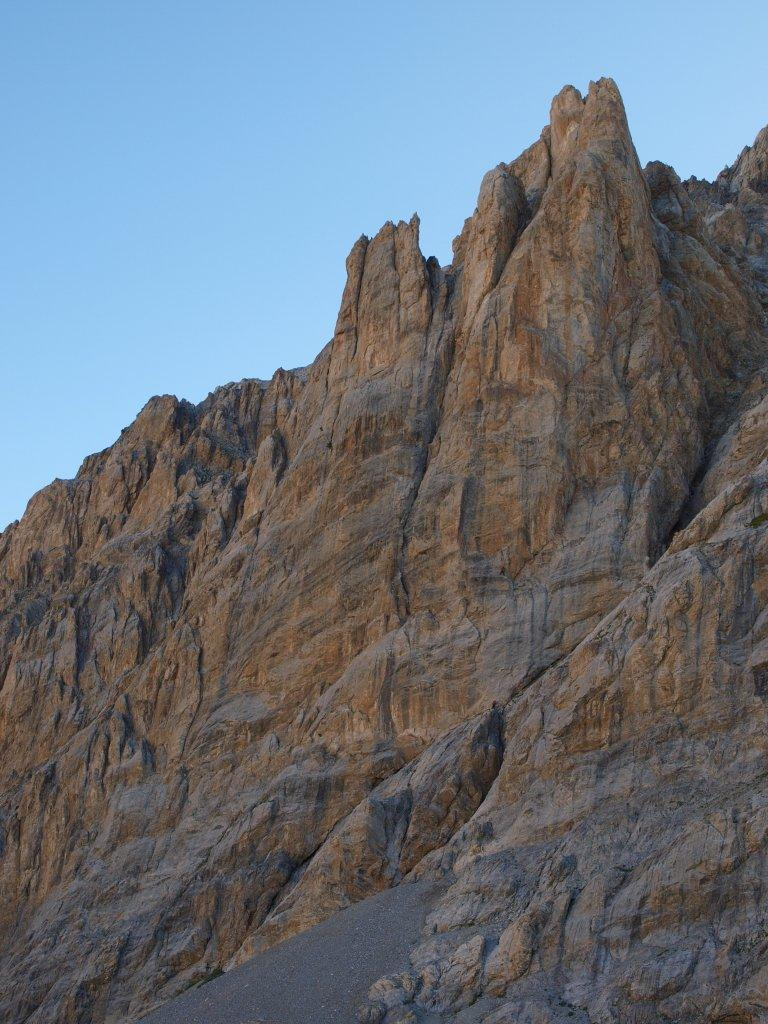 La parete del Vallonasso (Foto Vivalda)