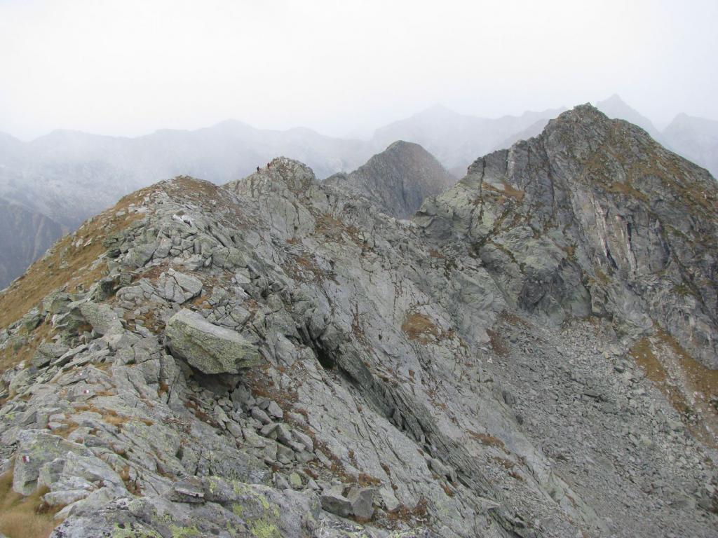 Monte Debat visto dalla cresta verso il Vailet