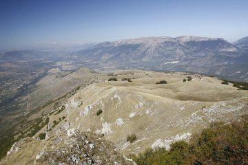 Veduta sulla Valle Peligna