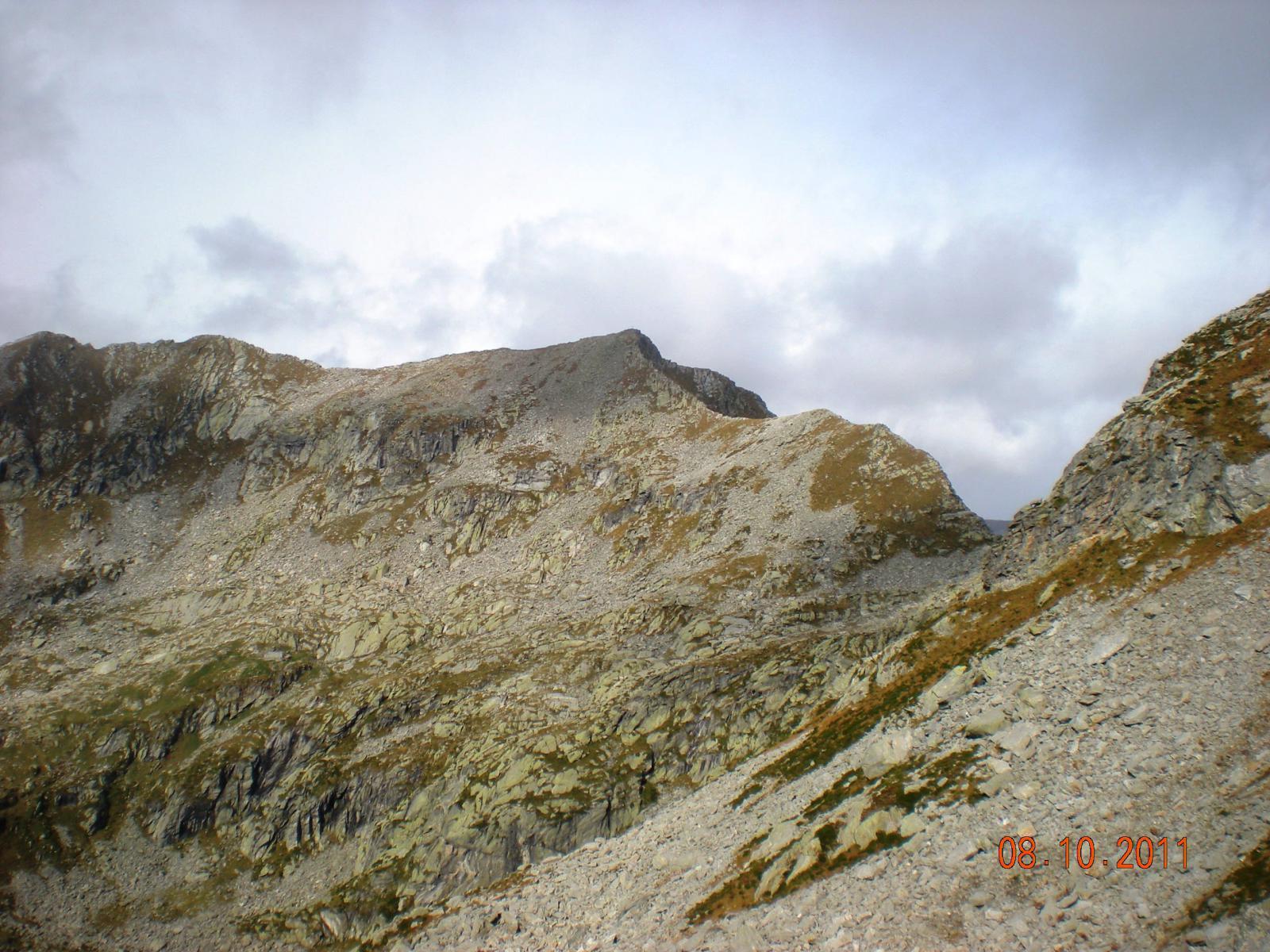 il Cresto ed il Colle del Lupo dal versante valdostano (Colle Marmontana)