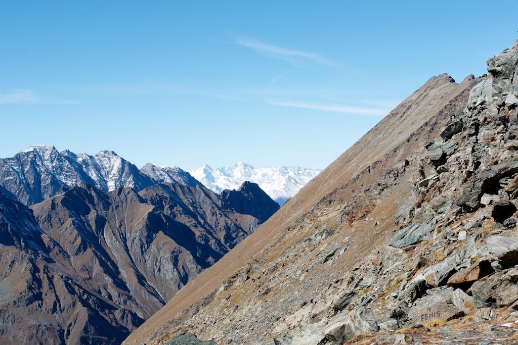 lo scivolone sud-ovest del mont raffrey