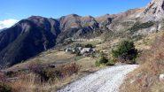 Saint Ours, punto di partenza per la salita alla Meyna (8-10-2011)