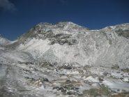 Tour Ponton dal versante di Dondena, a sx la Finestra di Champorcher