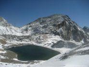 Tour Ponton dal lago di Pontonnet sul versante di Cogne