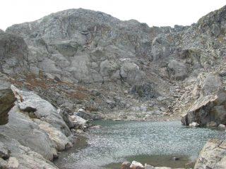 Lago della Pernice Bianca e Cima Centrale di Costa Bordevolo