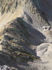 Colle della Guercia visto dall'alto