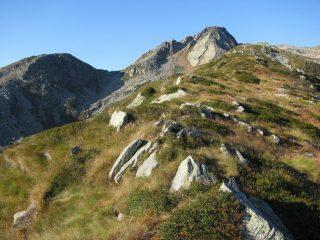 Percorrendo la cresta del Palit, con Gran Munt e Cima LA Rubbia