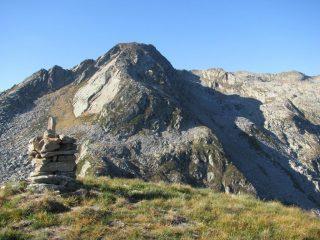 Punta Palit e cresta di salita a Cima la Rubbia