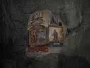 Cappella della Barma ancora in penombra