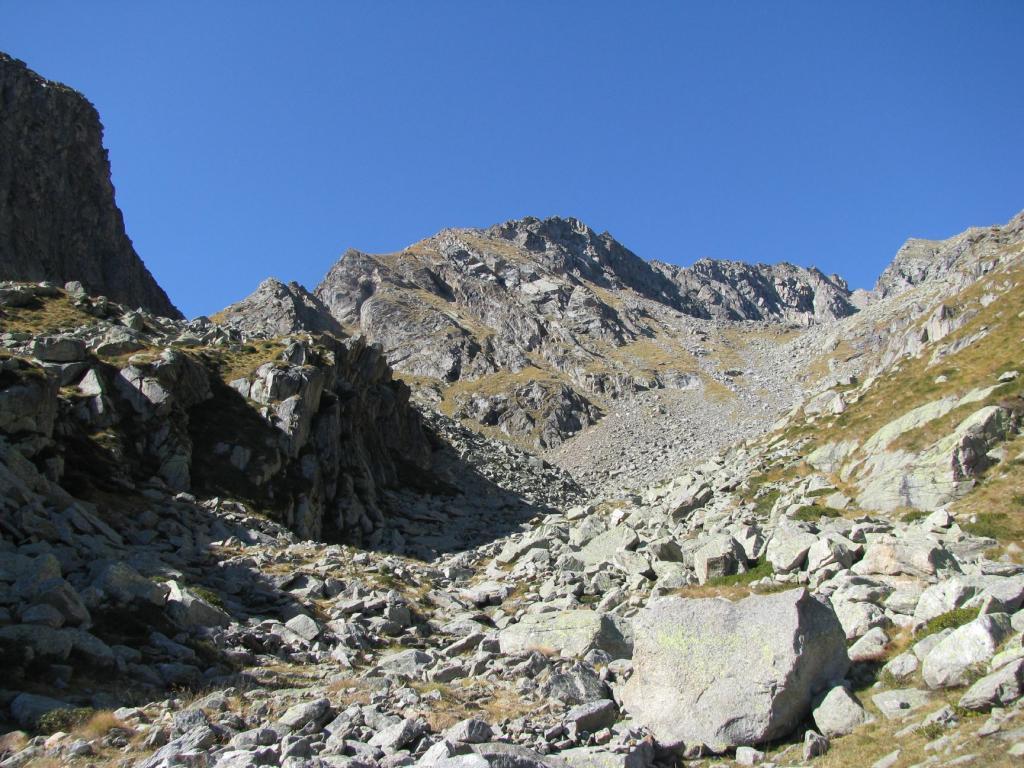 Cavallo (Cresta del) quota 2935 m da Forzo 2011-10-15