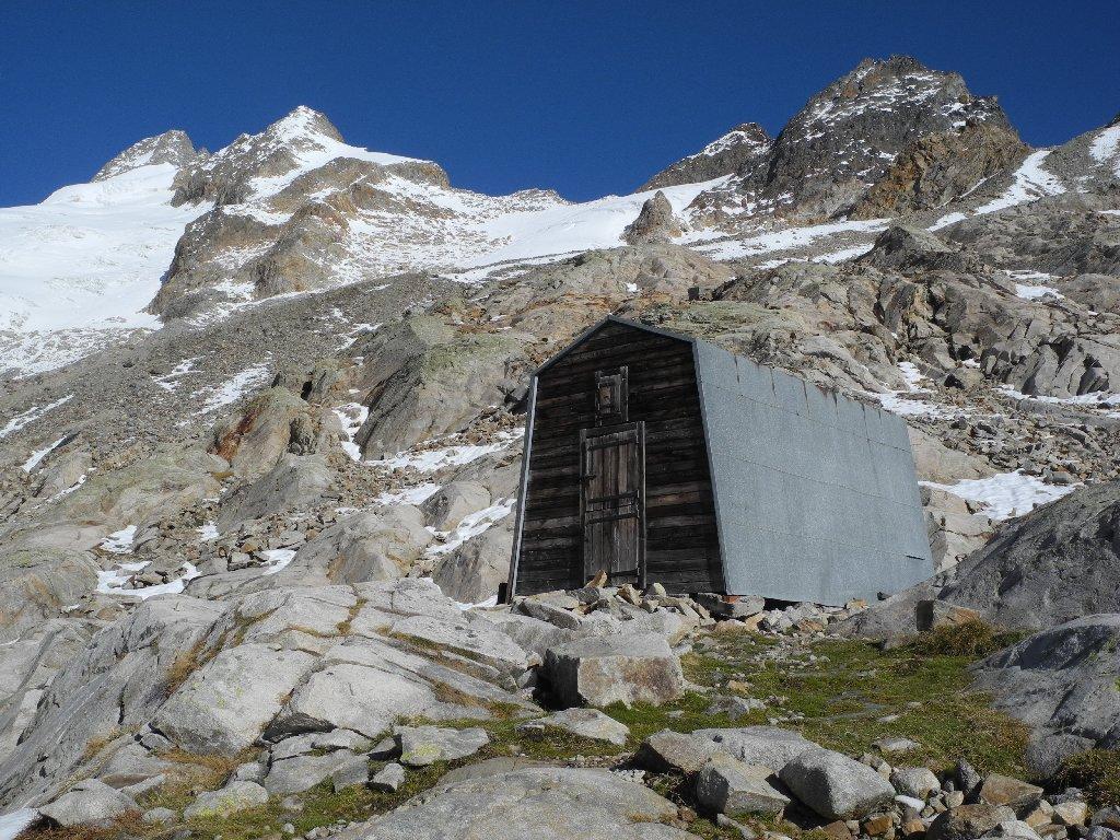 Bivacco e Mont Dolent