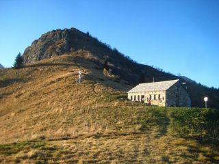 Bivacco e Monte Mottac