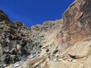 Tratti di sentiero alternati a roccette
