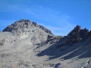Pic de rochebrune con il caratteristico intaglio ad