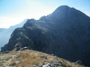 La cresta che dal Mont Bechit scende al Colle Carisey