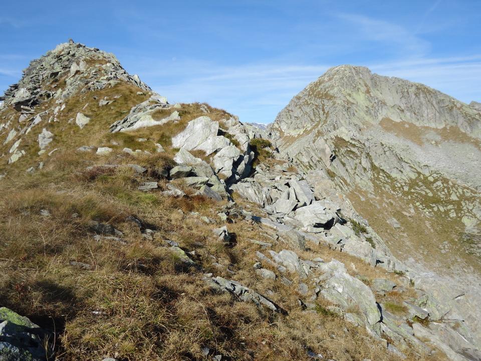 Tignaga (Pizzo) da Carcoforo per il Colle d'Egua e la Cresta E 2011-10-17