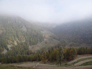 verso il vallone di Froudiere