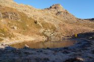 Il laghetto Vernouille e M. Torretta.