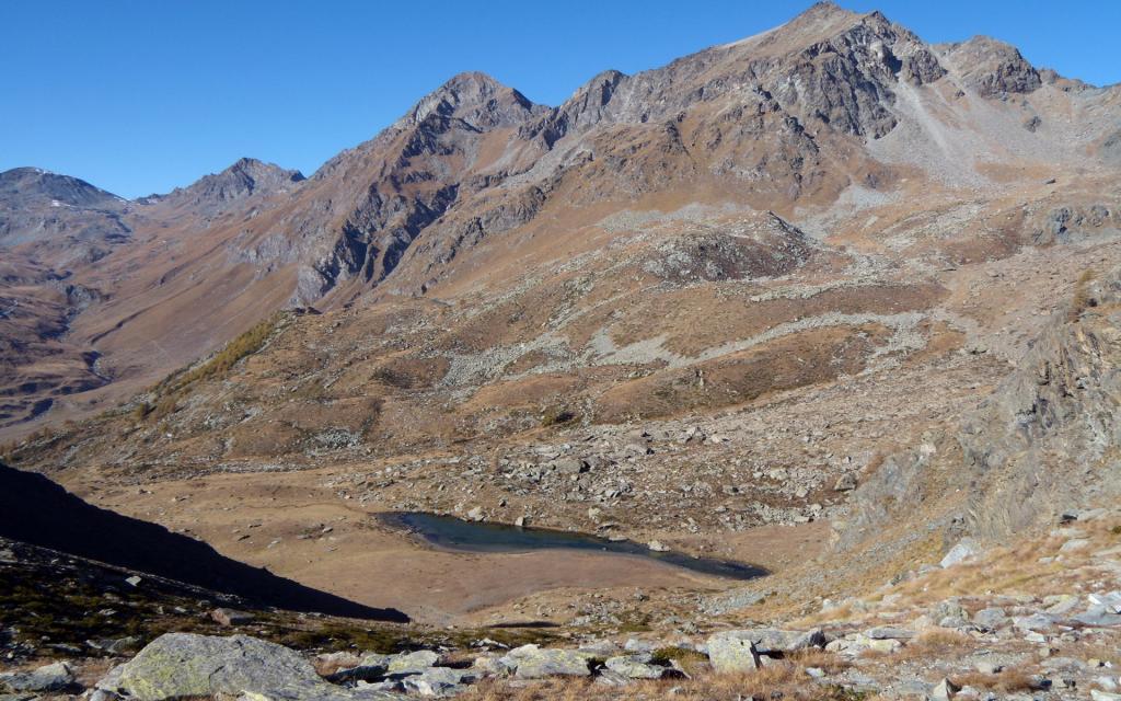 Laghetto Giaset e M. Glacier.