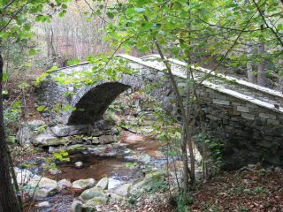 il ponte sul rio Romarolo