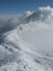 Cresta spartiacque e Cima Vallone