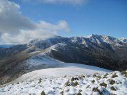 Dalla cima panorama verso le valli di Lanzo