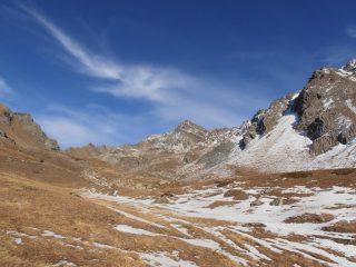 03 - il vallone dell'Arpisson con la Punta Garin