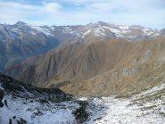 Dal colle 2371 m. verso nord