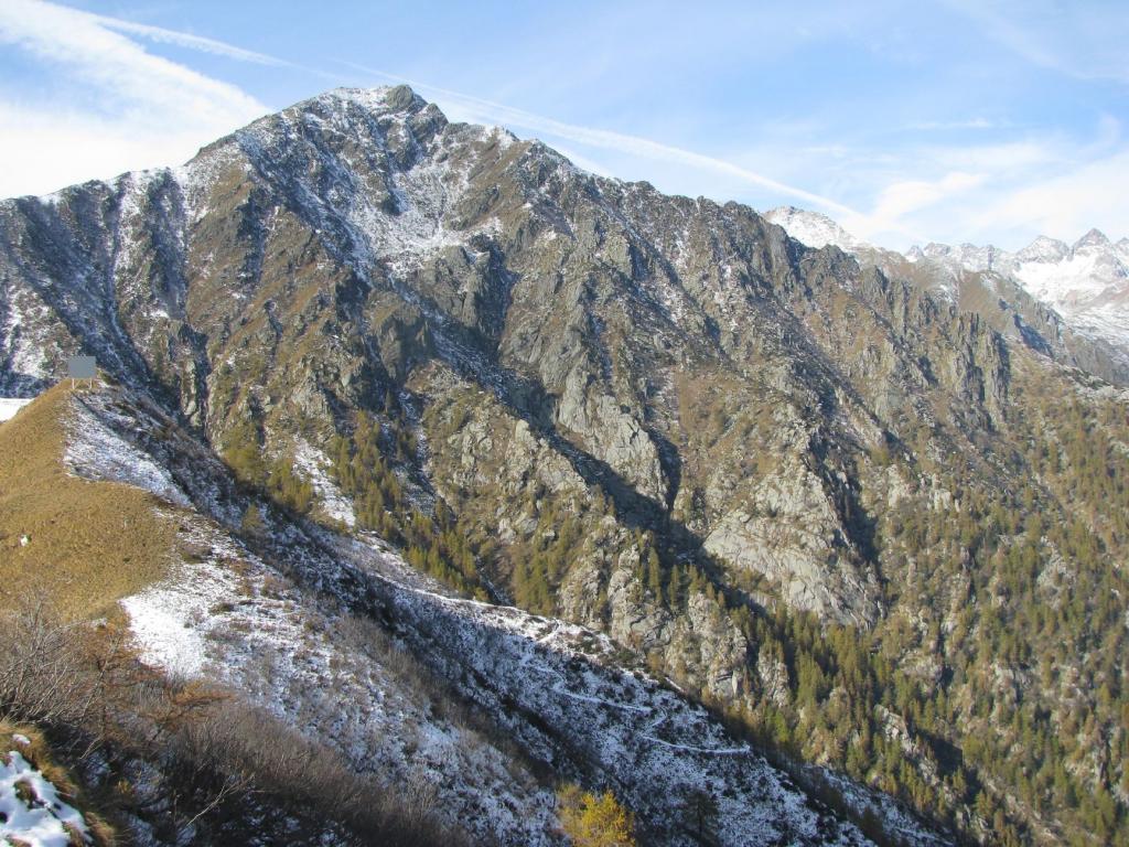 Punta del Vallone da Punta del Sionei