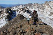 a pochi minuti dalla cima ! (30-10-2011)