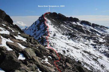 ultima parte di cresta per la cima (30-10-2011)