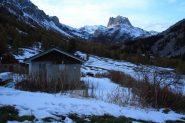 Valle Stretta e Rocche dei Serous viste dal Rifugio Re Magi (30-10-2011)
