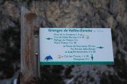 indicazioni segnaletiche alle Grange di Valle Stretta (30-10-2011)