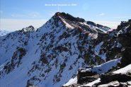 la Rocca Gran Tempesta dal passo omonimo e la cresta da salire (30-10-2011)