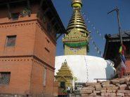 tempio a Budda a Katmandu