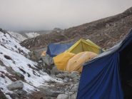 campo base Island Peak 5080m.