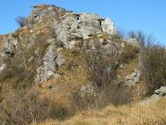 Verso la cima della Rocca Perabianca