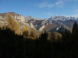 panorama dal Colle della Lausa  verso est