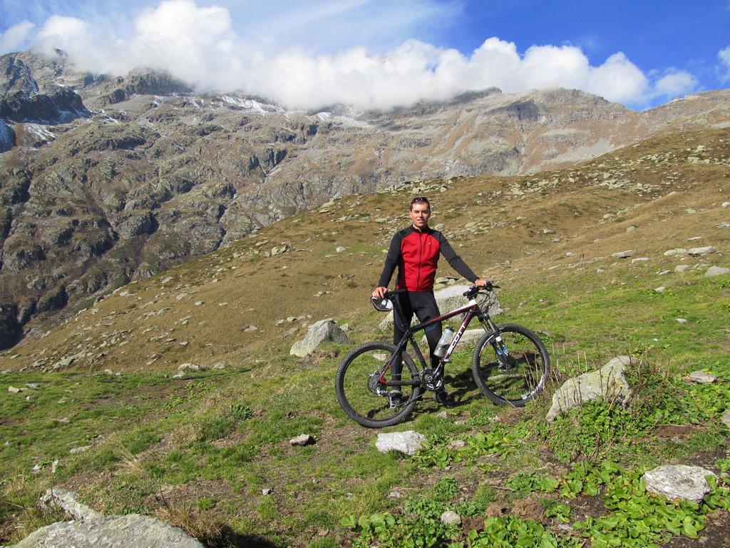 Gias Fontane, con dietro la Levanna