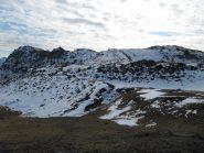 La cresta versante Nord