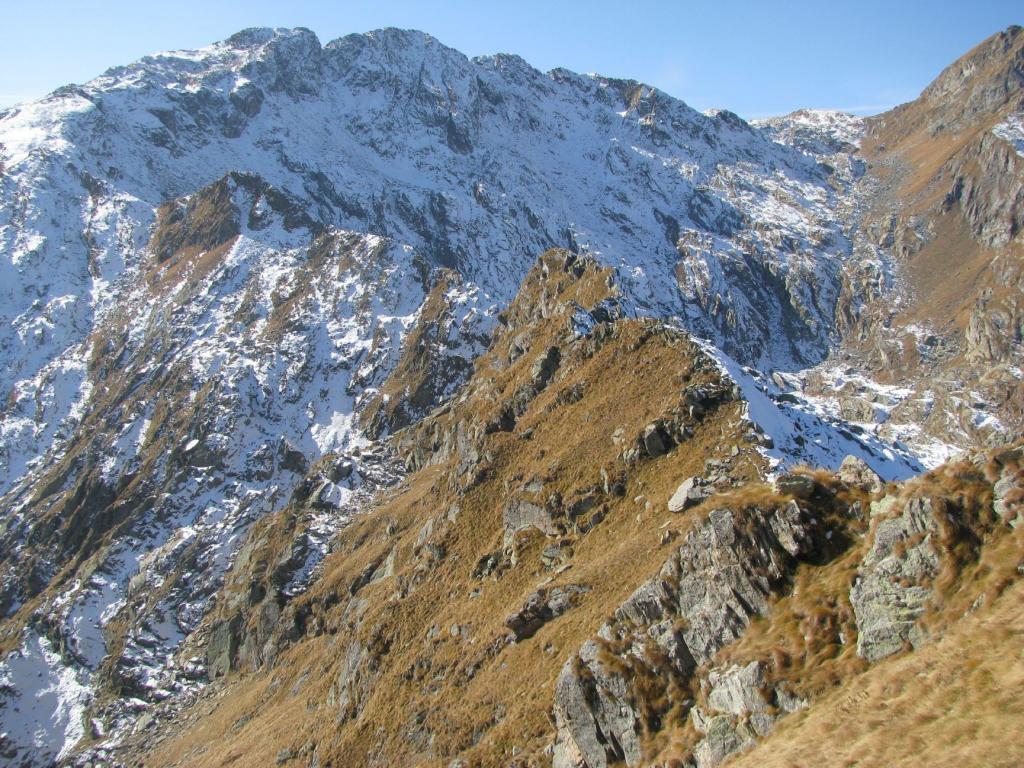 La cresta percorsa con Giavino e Mionda