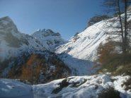 il passo del Muretto dal valico verso Salecchio superiore