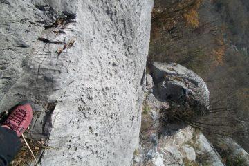 il muro verticale del primo tiro