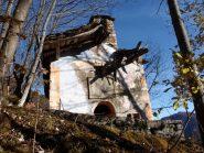 resti della chiesa di Cauri