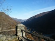 Panorama dal Santuario sulla valle