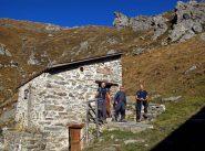 Breve sosta all'alpe Molinetto