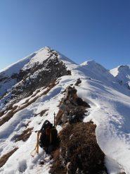 08 - Cresta per la Cima del Vallone sopra i Denti di Chiomonte